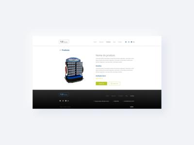Product - Website UI