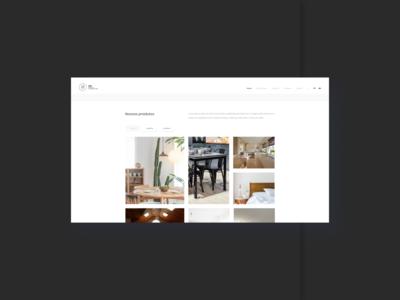 Furniture - Desktop UI