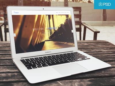 MacBook Air Mockup PSD macbook air psd mockup showcase showoff design project