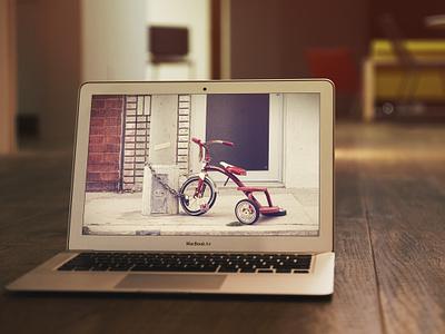 MacBook Air Mockup #2 PSD design mockup mock up psd macbook air showcase work showoff