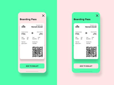 Daily UI 023. Boarding Pass boardingpass design ui mobile ui mobile design ui design dailyui adobexd