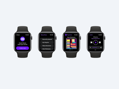Daily UI 009. Music Player music player musicapp applewatch ui interfacedesign adobexd dailyui