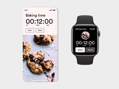 Daily UI 014. Countdown Timer watch ui iwatch dailyuichallenge mobile ui ui ui design dailyui interfacedesign adobexd