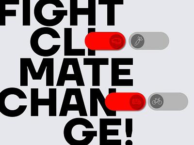 Daily UI 015. On/Off Switch climate crisis climatechange climate dailyuichallenge webdesign web design ui ui design interfacedesign dailyui adobexd