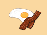 Bacon and eggs, baby!