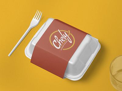 Chely enchiladas food logo