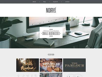 Noirve Site Update website portfolio responsive