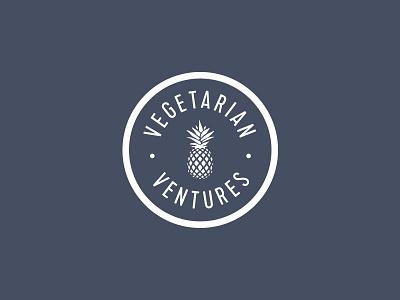 Vegetarian Ventures logo mark pineapple food