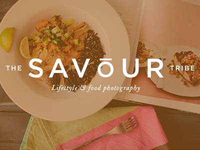 The Savour Tribe logo photography food