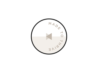 Made to Thrive branding icon mark logo