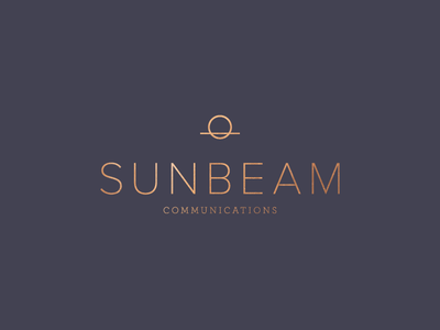 Sunbeam Co sun icon mark branding logo