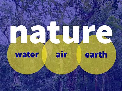 nature transparency circle geometic earth air water nature