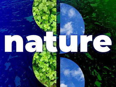 Nature typography geometric shapes glow geometric photos plants sky nature