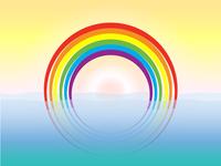 Proud rainbow