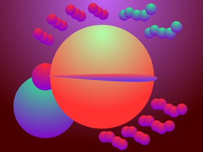 Spheres geometric gradient