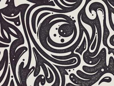 Swirls vector pattern swirls wallpaper tutorial stamp positivenegative