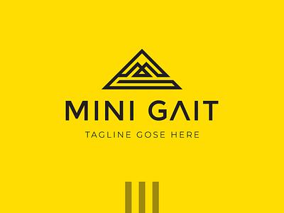 Geometric MG Letter Logo Design mg logo teller logo minimalist logo minimal logo vector design minimalist illustration branding logo