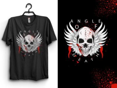 Angle of death t-shirt design 2020