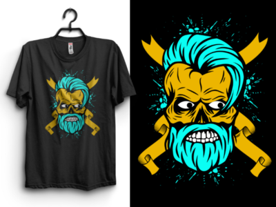 Color splash man t-shirt