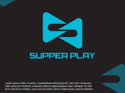 Supper play logo design