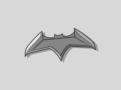 Batarang dccomics batarang batman icon creative vector minimal illustrator illustration graphic design flat design art