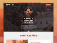 Nova Maple Syrup Home Page
