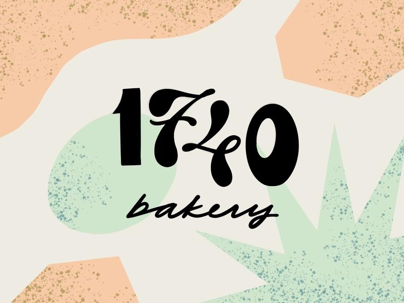 17/40 Bakery cafe bakery logo identity type brand logotype branding logo
