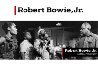 Logo for Playwright Robert Bowie Jr.