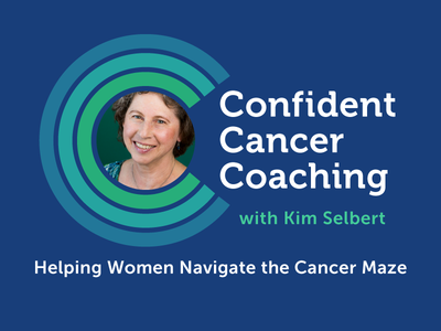 Logo for Confident Cancer Coaching cancer concentric museo logo branding