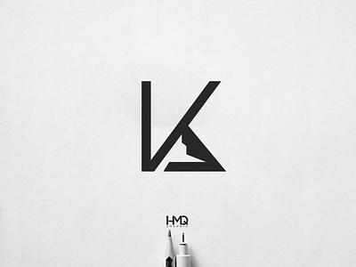 kA+ mountain Minimalist Modern Logo Design monogram logomark mark monogram design monogram logo monogram logo animation logo idea logo mark hmqgraphix branding attractive logo modern logo minimalist logo design logo business logo logo inspirations logo design lettering logotype logo