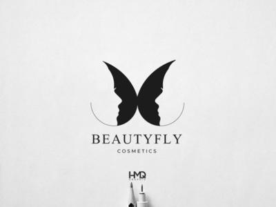 Beautyfly Cosmetics LOGO identity design brand identity design brand design brand identity identity design logo intro logo animation logo inspirations logo mark logo hmqgraphix branding attractive logo modern logo minimalist logo design logo business logo butterfly butterfly logo cosmetics logo