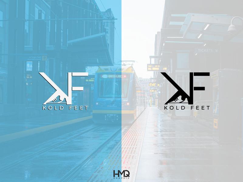 KF monogram minimalist logo design graphic design logo inspirations logo mark logo hmqgraphix branding attractive logo modern logo minimalist logo design logo business logo sneaker kf monogram
