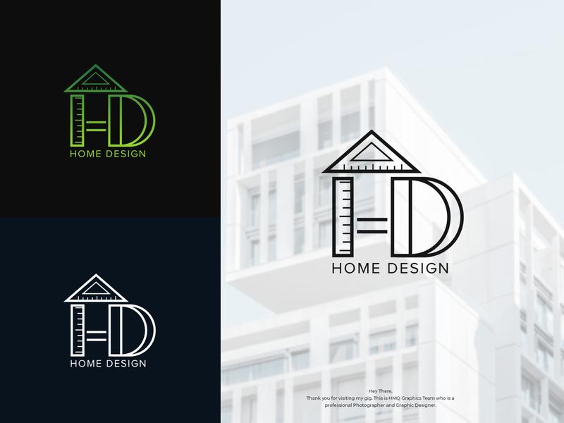 H + D + HOME + Design Tool Monogram graphic design brand graphicdesign architecture logo architecture home design logo logo design logo inspirations logotype designer logo mark logo design logo attractive logo branding business logo modern logo minimalist logo hmqgraphix