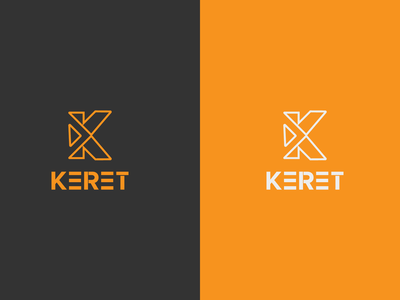 KERET minimal modern word mark design logo inspirations logo inspiration design logo hmqgraphix branding business logo modern logo minimalist logo k letter logo k minimal k monogram k letter