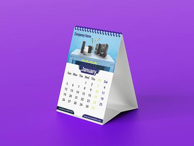 Desk Calendar illustration vector design branding