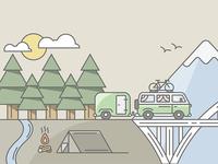 Shopify Tour Van