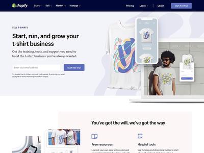 Start a t-shirt business