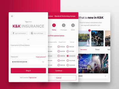 K&K Insurance - WebApp