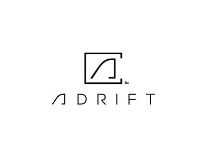 ADRIFT life style skate toronto canada clothing branding brand identity abstract logo