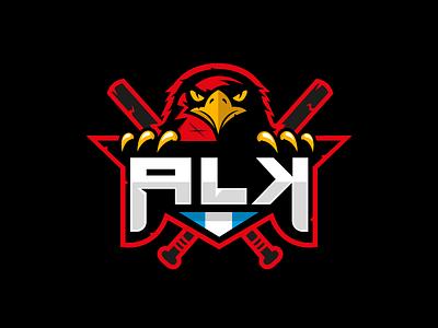 ALK team logo gaming hawk logo hawk logo gamer logo gamer team logo team team sport game esport clan logo hawk