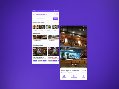 Restore - Booking app