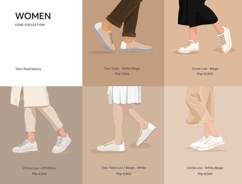 Shoes Illustration illustration uxui