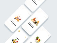 PinoyFood Delivery illustraion design uiux