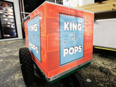 King of Pops Branding