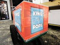 King of Pops Branding