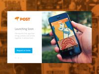 Post Landing Page