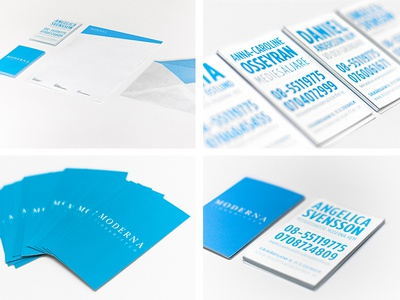 Visual identity for publishing company