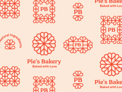 Pie's Bakery Marks bakery logo logo design icon branding logo visual identity freelance designer