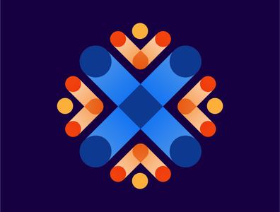01 Vortex Analytics Logo 02 analytics logo clean logo modern logo logo concept logo design branding design abstract logo classy logo technology logo icon visual identity logo freelance designer