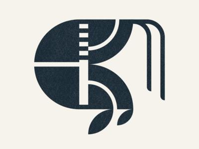 Lobster Icon corporate identity corporate logo minimal logo visual identity logo design abstract logo icon freelance designer